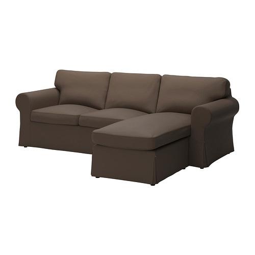 Ektorp fodera divano 2 posti chaise longue jonsboda marrone ikea - Fodere divano ektorp ikea ...