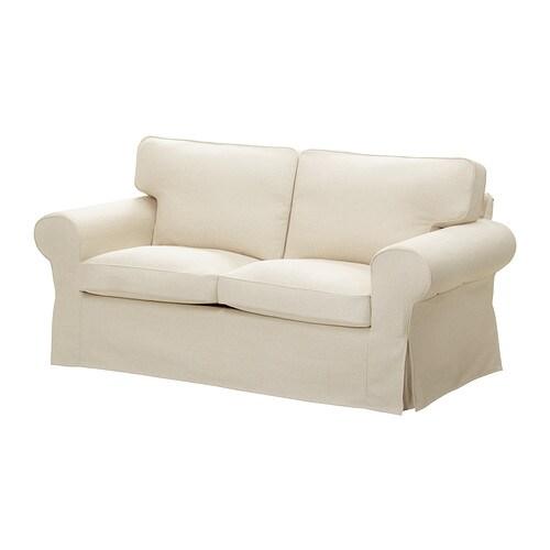Ektorp fodera per divano a 2 posti isefall naturale ikea for Fodere divano ektorp ikea