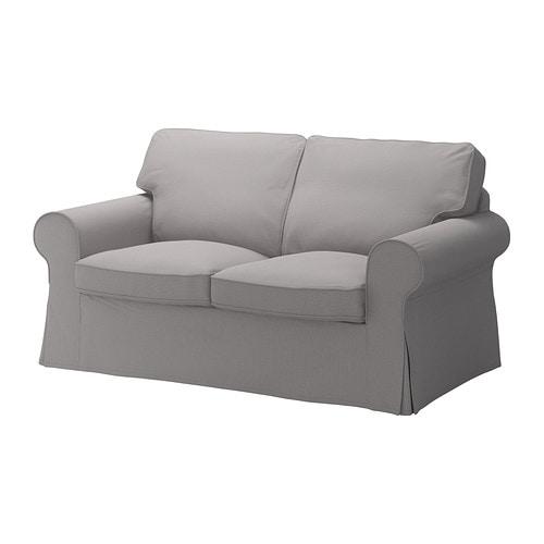 Ektorp fodera per divano a 2 posti isefall grigio fumo for Fodere divano ektorp ikea