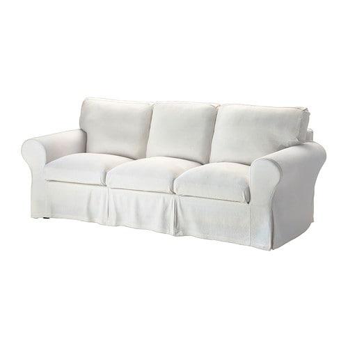 Ektorp fodera per divano a 3 posti sten sa bianco ikea for Fodere divano ektorp ikea