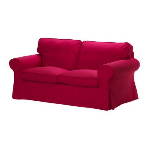Ektorp fodera per divano a 2 posti idemo rosso ikea - Divano ektorp 2 posti ...