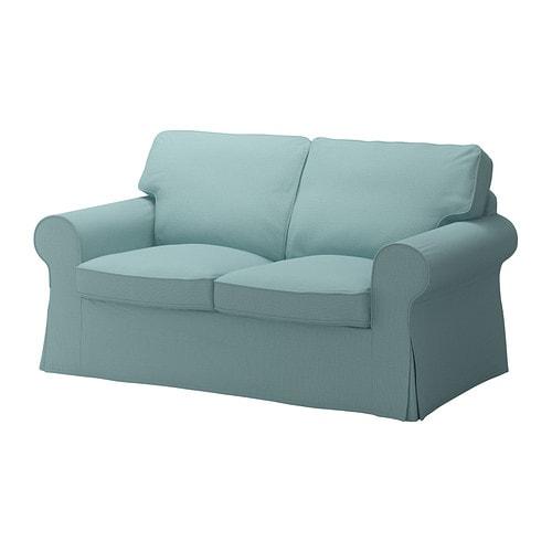 Ektorp fodera per divano a 2 posti isefall turchese chiaro ikea - Divano ektorp 2 posti ...