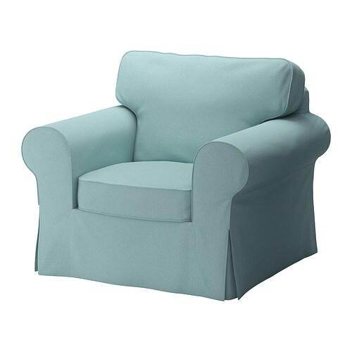 Ektorp poltrona isefall turchese chiaro ikea for Ikea poltrona ektorp