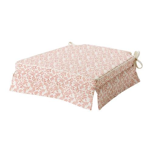 Elsebet cuscino per sedia rosa ikea - Cuscini sedie ikea ...