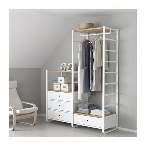 Elvarli 2 sezioni ikea - Organizzare camera da letto ...