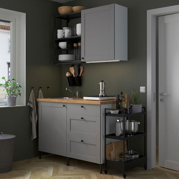 ENHET Cucina - antracite/grigio cornice - IKEA IT
