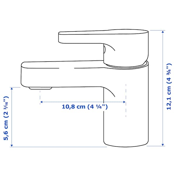 ENSEN Miscelatore lavabo/valvola scarico, cromato