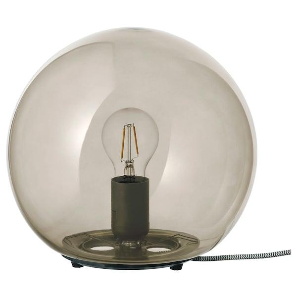 FADO Lampada da tavolo, grigio, 25 cm