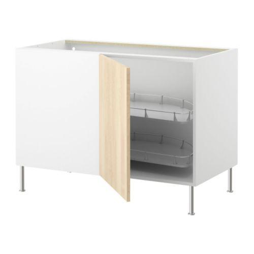 FAKTUM Mobile base angolare/cestello estr. IKEA