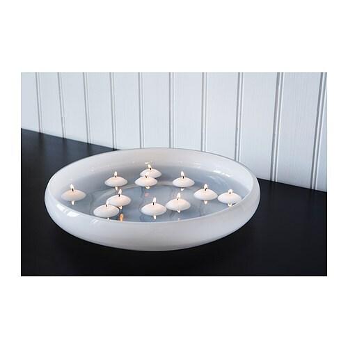 fenomen candela galleggiante senza profumo ikea