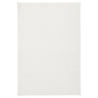 FINTSEN Tappeto per bagno, bianco, 40x60 cm