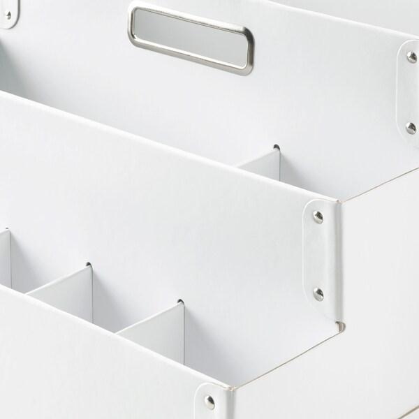 FJÄLLA Portaoggetti, bianco, 35x21 cm