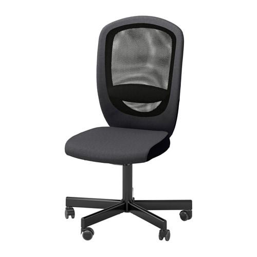 Flintan sedia da ufficio vissle grigio ikea for Ikea sedie da ufficio