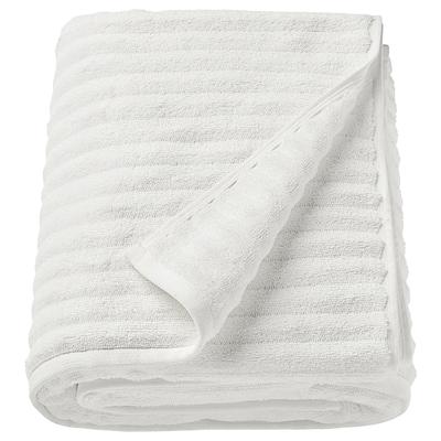 FLODALEN Telo bagno, bianco, 100x150 cm