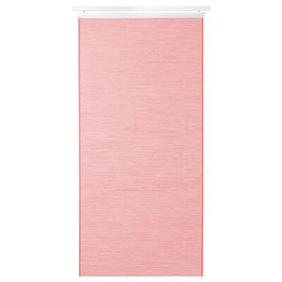 FÖNSTERVIVA Tenda a pannello, marrone chiaro-rosso, 60x300 cm
