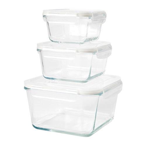 F rtrolig set di 3 contenitori per alimenti ikea for Contenitori per giocattoli ikea