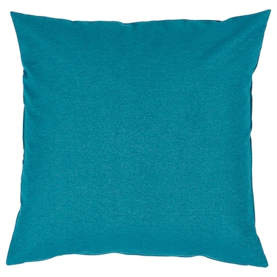 FORTSKRIDA Fodera per cuscino, blu, 50x50 cm