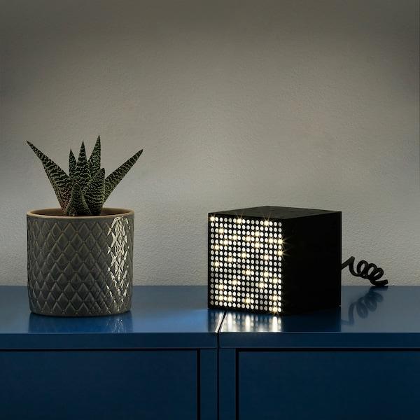 FREKVENS Illuminazione multiuso a LED, nero