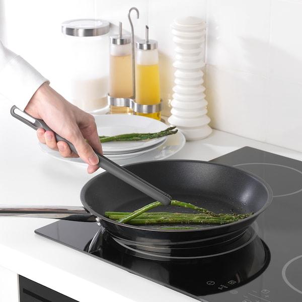 FULLÄNDAD Utensili da cucina, 5 pezzi, grigio