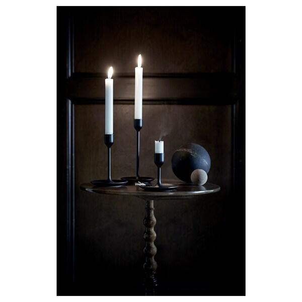 FULLTALIG set di 3 candelieri nero