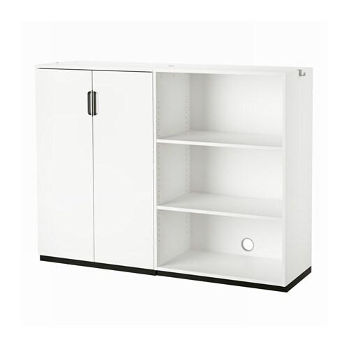 Galant combinazione di mobili bianco ikea - Cassettiere per ufficio ikea ...