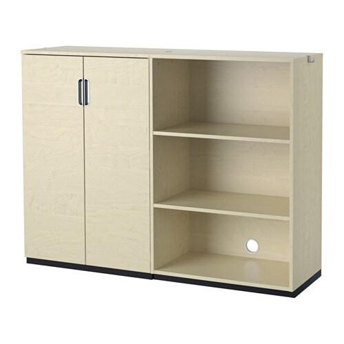 Galant combinazione di mobili impiallacciatura di for Mobili ufficio ikea