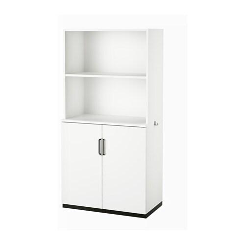 Galant mobile con ante bianco ikea for Mobile ufficio bianco