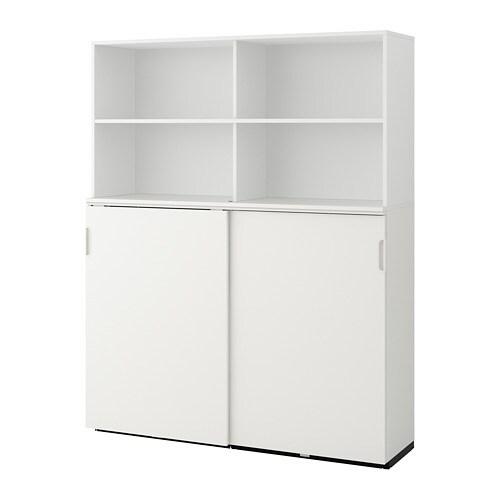 GALANT Mobile con ante scorrevoli - bianco - IKEA