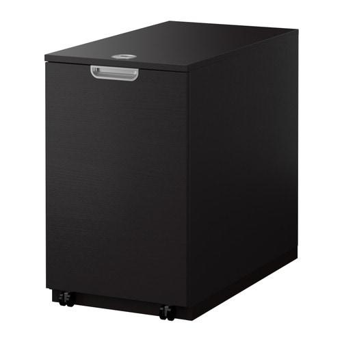 Galant mobile per stampante marrone nero ikea - Porta stampante ikea ...