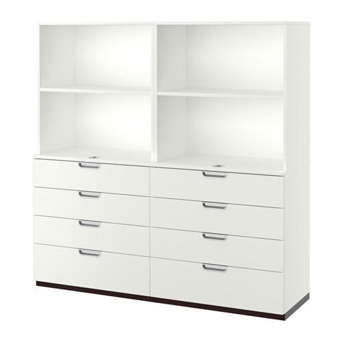 Galant mobili con cassetti bianco ikea - Organizer bagno ikea ...