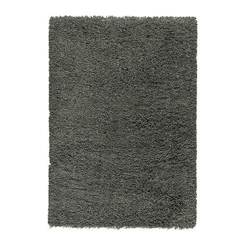 G ser tappeto pelo lungo 133x195 cm ikea - Tappeto grigio ikea ...