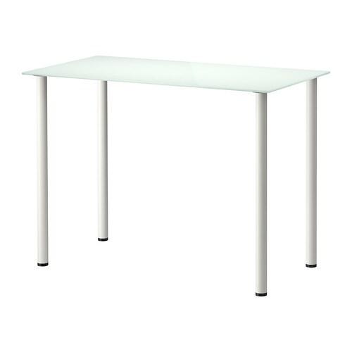 Glasholm adils tavolo vetro bianco bianco ikea - Tavolo di vetro ikea ...