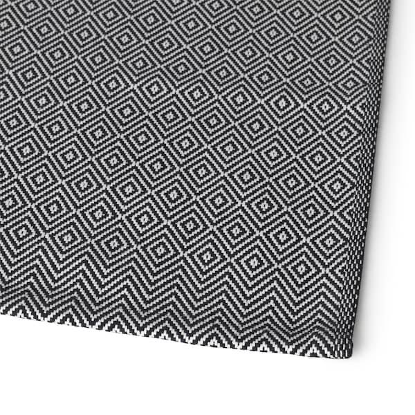 GODDAG Tovaglietta all'americana, nero/bianco, 35x45 cm