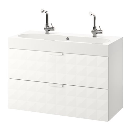 godmorgon br viken mobile per lavabo con 2 cassetti resj n bianco ikea. Black Bedroom Furniture Sets. Home Design Ideas