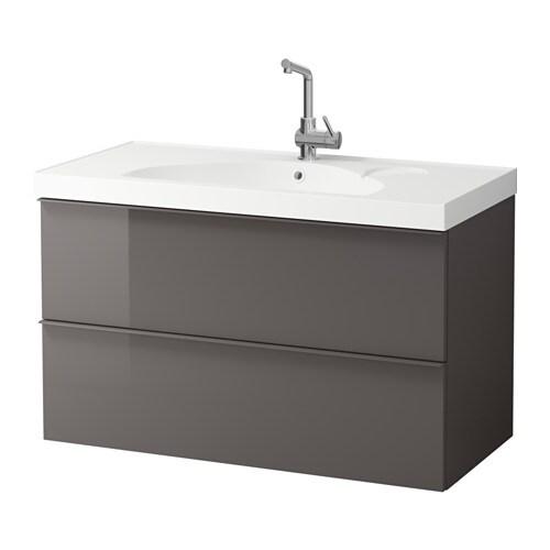Godmorgon edeboviken mobile per lavabo con 2 cassetti - Mobile lavabo ikea ...