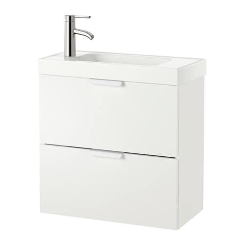 Godmorgon hagaviken mobile per lavabo con 2 cassetti for Ikea bagno mobili lavabo