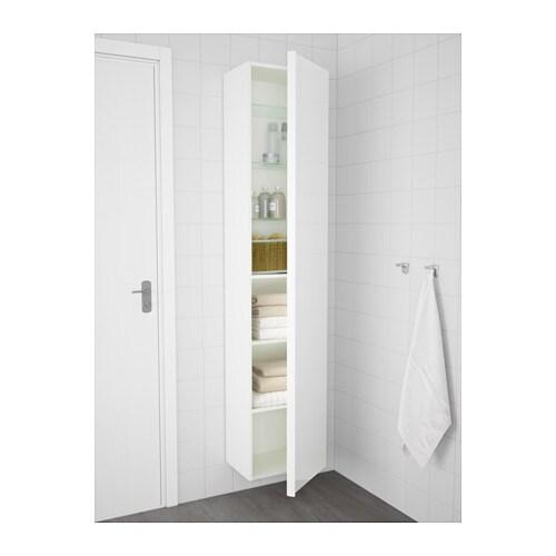 GODMORGON Mobile alto - effetto rovere con mordente bianco - IKEA