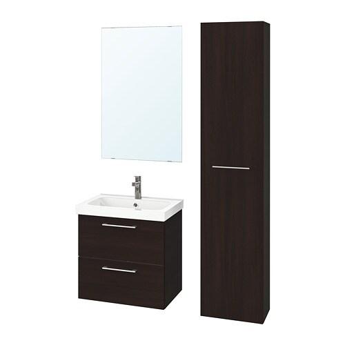 Godmorgon odensvik set di 5 mobili per il bagno ikea for Mobili per il bagno ikea