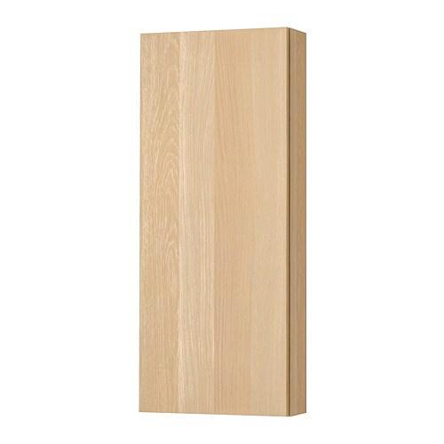Godmorgon Pensile Con 1 Anta Effetto Rovere Con Mordente Bianco Ikea