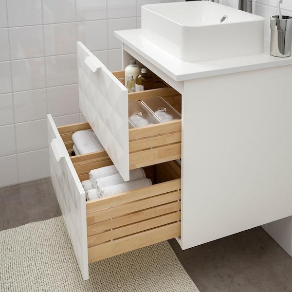 GODMORGON/TOLKEN / HÖRVIK mobile lavabo/lavabo45x32 per piano Resjön bianco/bianco Miscel Brogrund 62 cm 49 cm 72 cm