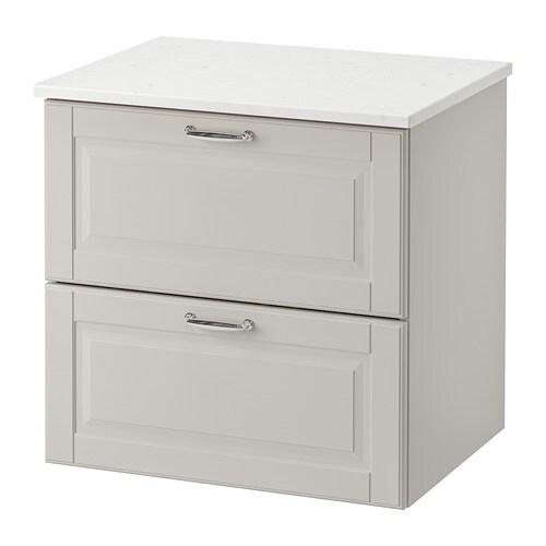 GODMORGON / TOLKEN Mobile per lavabo con 2 cassetti - IKEA