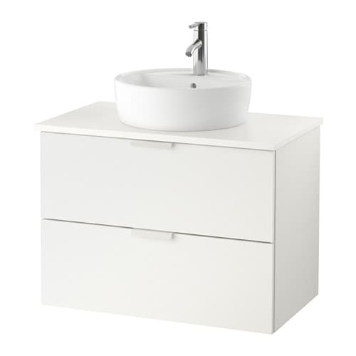 Godmorgon tolken t rnviken mobile lavabo 45 piano appoggio bianco bianco ikea - Mobile lavabo ikea ...