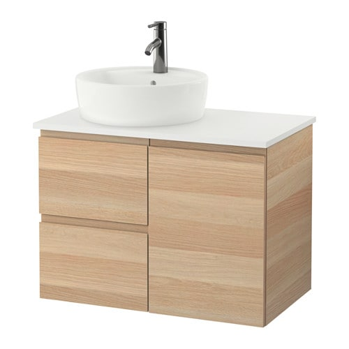 GODMORGON/TOLKEN / TÖRNVIKEN Mobile per lavabo con lavabo 45 ...