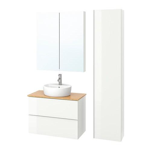 Godmorgon tolken t rnviken set di 6 mobili per il bagno ikea for Mobili per il bagno ikea