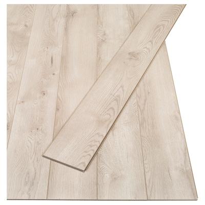 GOLV Pavimento in laminato, effetto rovere chiaro, 2.00 m²