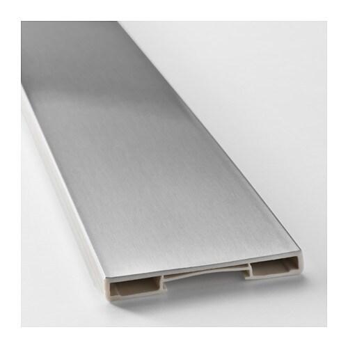 zoccolo per mobili finitura alluminio. grevsta zoccolo ikea. kit ...