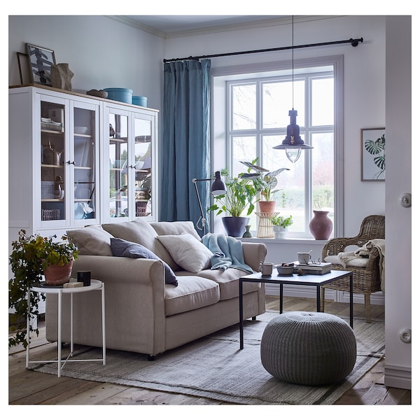 Gr nlid divano a 2 posti sporda naturale ikea for Divano 2 posti usato