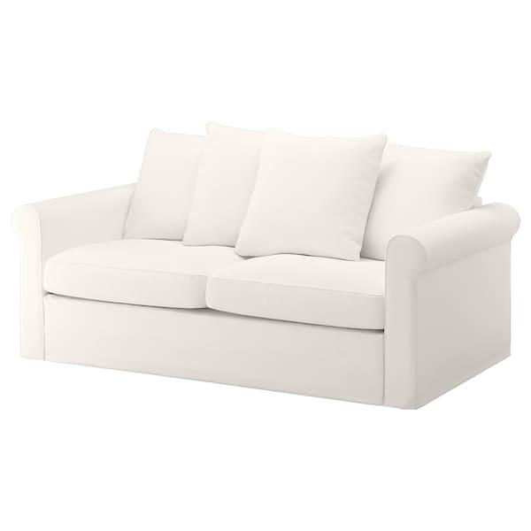2 Posti Divano Due Posti Ikea.Gronlid Fodera Per Divano Letto A 2 Posti Inseros Bianco Ikea It