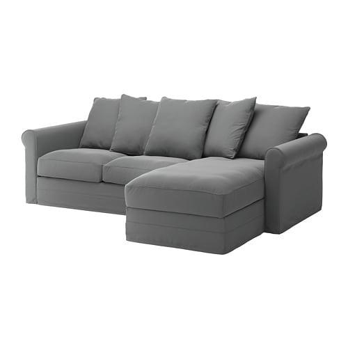 Gr nlid divano a 3 posti con chaise longue ljungen for Divano ikea 3 posti