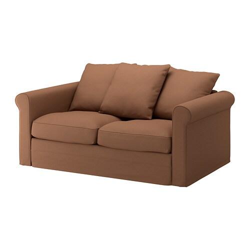 GRÖNLID Divano a 2 posti - Inseros marrone chiaro - IKEA